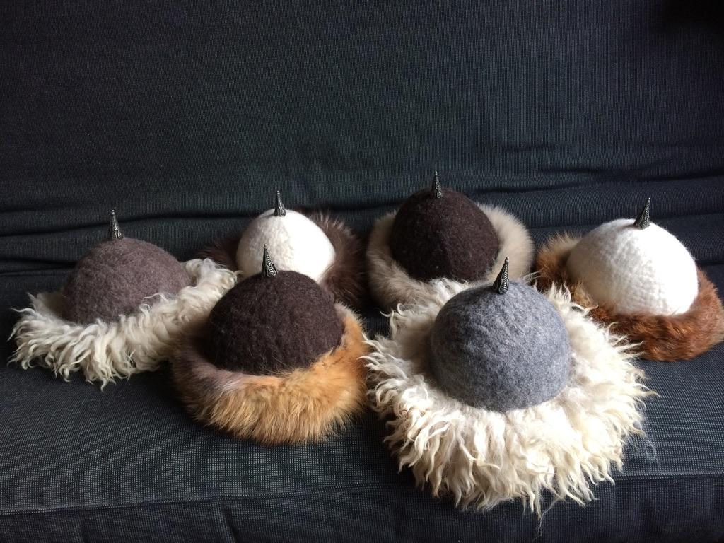 Viking/Mongoolse mutsen